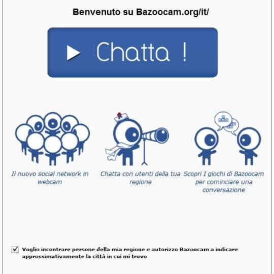 Bazoocam Iscrizione